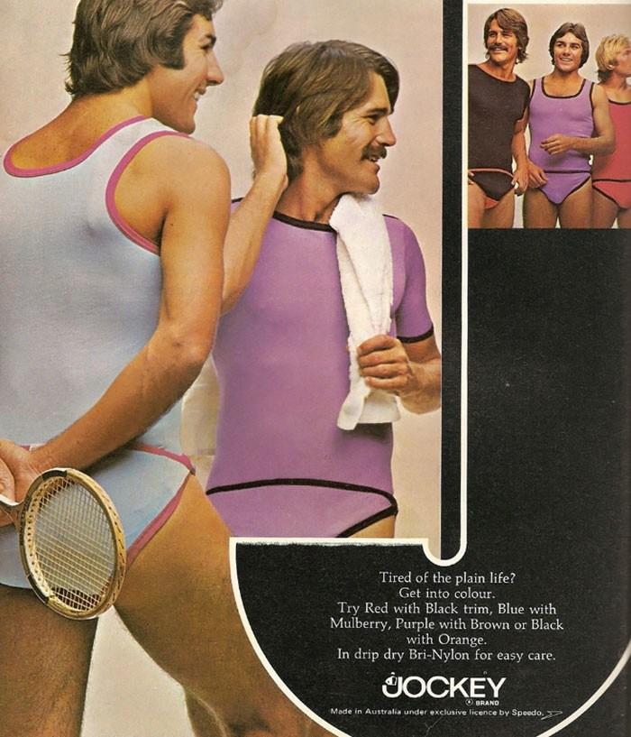 Najlepšie reklamy na pánsku módu zo 70.rokov