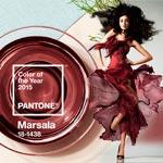 Spoločenské šaty 2015 vo farbe roka 2015 Marsala vyzerajú dokonale!