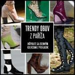 Trendy obuv jeseň/zima 2014/2015: inšpirácia z parížskych prehliadok!