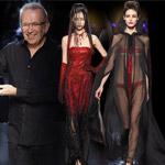 Haute Couture Gaultier: Upíri na móle a fúzatá speváčka!