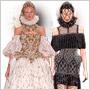 V jesennej kolekcii Alexander McQueen prichádza Sarah Burton s excentrickými róbami a nesmrteľnou čipkou