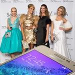 4 večerné šaty a 1 Samsung GALAXY Alpha