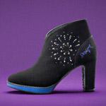 Jesenné topánky Desigual ozdobia Swarovski kryštály