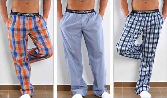 Pánske pyžamové nohavice
