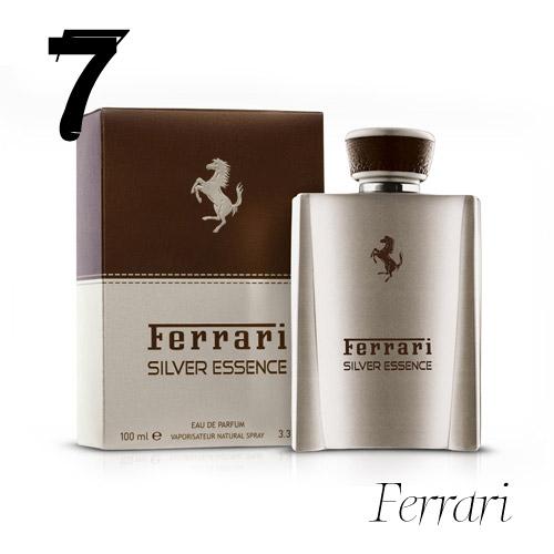 Pánsky parfum Ferrari Silver Essence