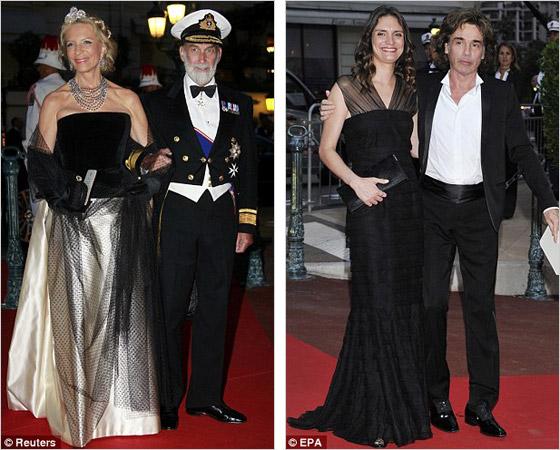 069fdc674952 Princ Michael of Kent a Jean Michel Jarre. Hosťami kráľovskej svadby ...