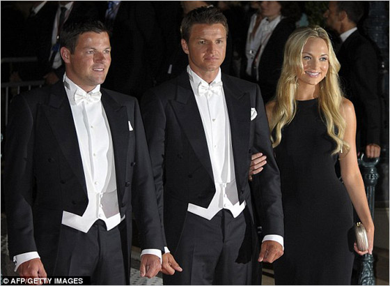 2424813d317a Princezná Charlenne mala na kráľovskej hostine aj svojich dvoch bratov