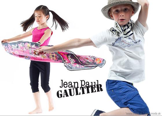 Junior Gaultier oblečenie pre dievčatá aj chlapcov