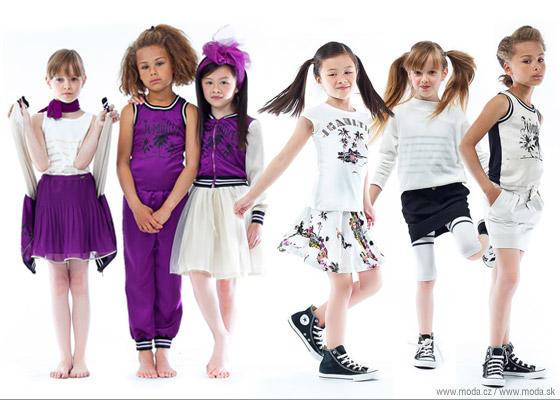 Detské oblečenie od Gaultiera v štýle klasického mestského glam