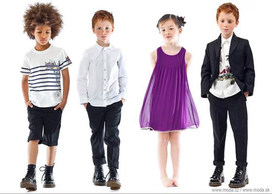Výber oblečenia pre deti Junior Gaultier