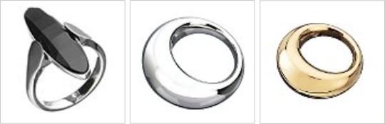 Prstene od Calvin Klein