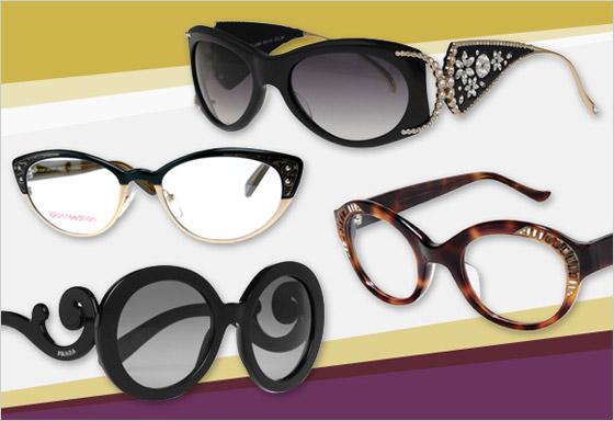 Trendové okuliarové rámy značiek Caviar Lafont Spolok Judith Leiber a Prada 832eabb5796