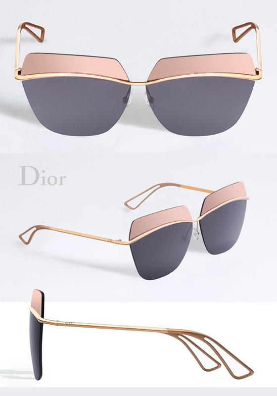 f8821bbd25 Slnečné okuliare Dior Metallic inšpirovali svetlá veľkomesta!