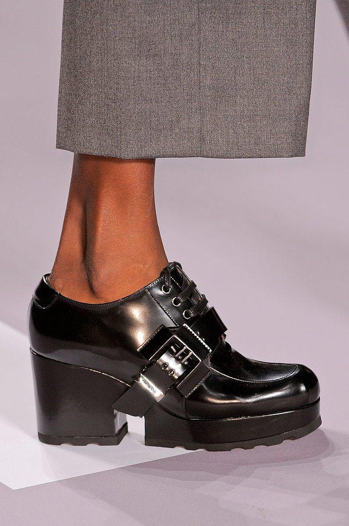 Trendy obuv jeseň zima 2014 2015  inšpirácia z parížskych prehliadok ... f66c1bffe8