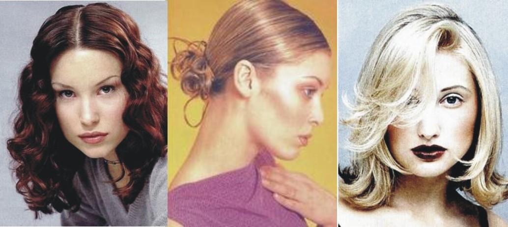 3 typy dámskych strihov pre polodlhé vlasy
