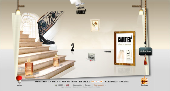 Reklama na parfum Gaultier2