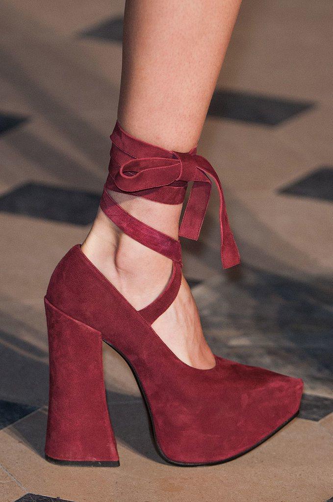 Trendy obuv jeseň zima 2014 2015  inšpirácia z parížskych prehliadok ... 237df62525c
