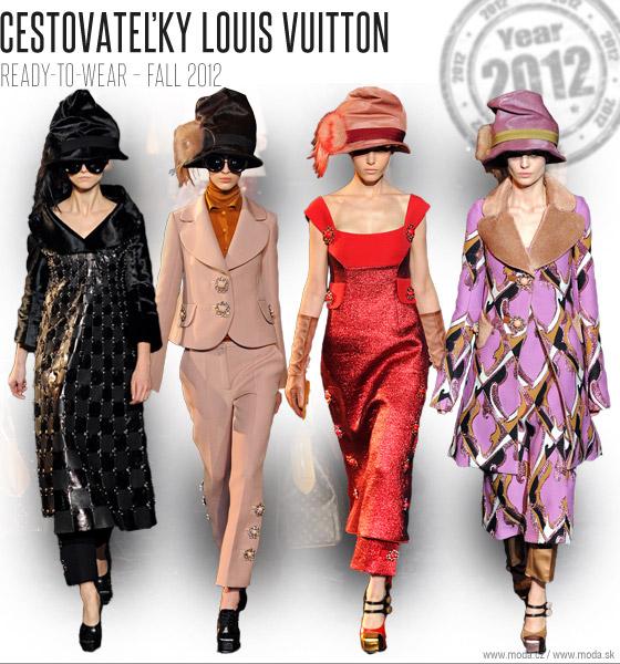 Louis Vuitton kolekcia pre jeseň 2012 2013 v podaní Marc Jacobsa