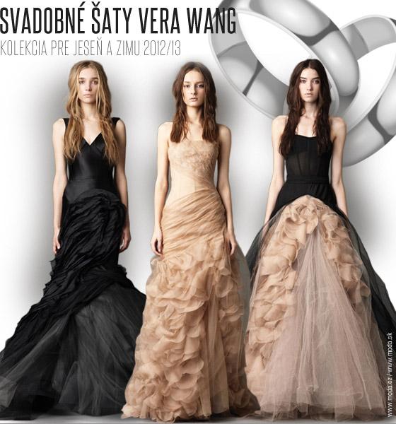 695c77aadb68 Svadobné šaty Vera Wang pre jeseň a zimu 2012