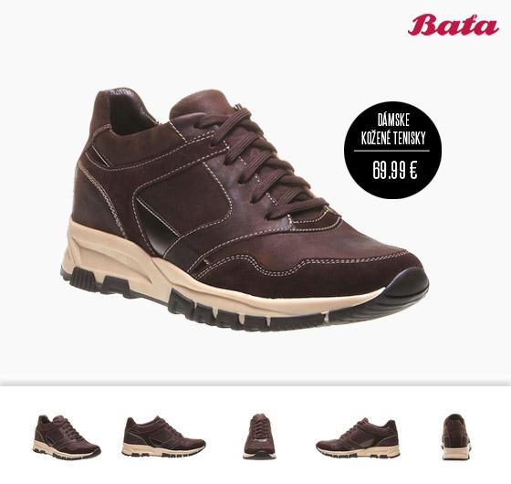 2b01713fe Dámske tenisky Baťa majú v novej kolekcii úžasnú farbu zvanú sangria ...