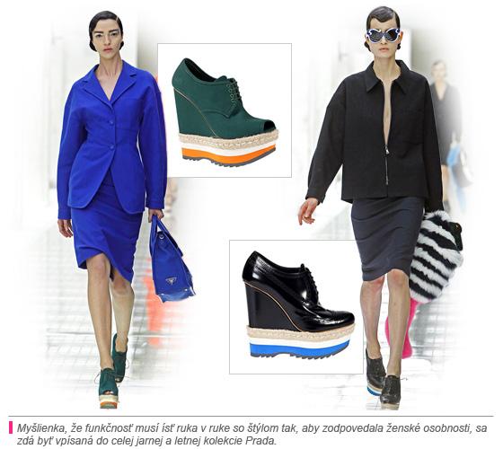8a3e5a34af0a Ak sa zameriame na dizajn obuvi Prada v kolekcii na jar a leto 2011