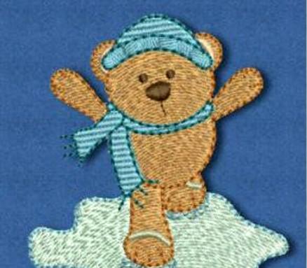 Nášivky s medvedíkom