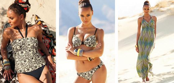 Nová kolekcia plaviek S  S 2013 od Next je plná vzorov a farieb Pestro potlačené plavky dopĺňa aj celá plejáda modelov s plážovými šatami a plážovým oblečením
