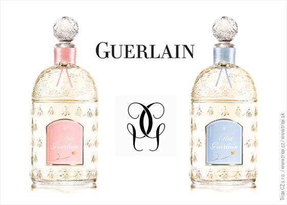 Parfum PETIT GUERLAIN  ružová varianta pre dievčatká a svetlo modrá pre chlapcov