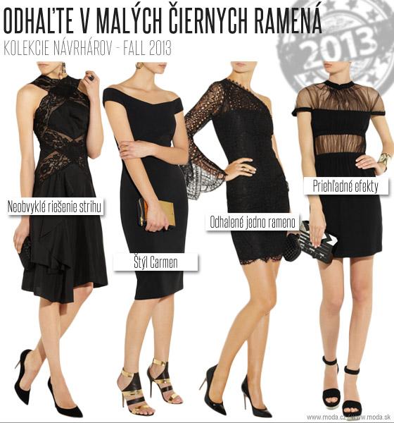 57a4f140a4 Zľava šaty Nina Ricci šaty Gucci šaty Christopher Kane šaty Emilio Pucci.  Odhaľte tento rok v malých čiernych ...