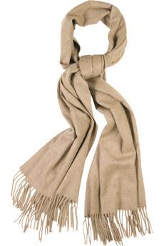 Hnedý šál so strapcami
