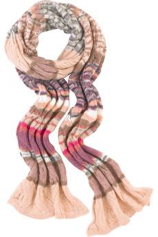 Jemný pletený šál