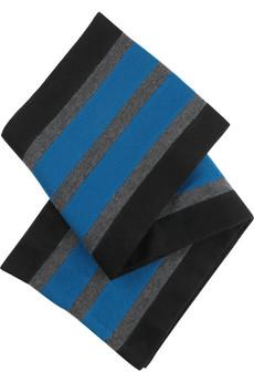 Čiernosivomodrý šál
