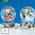 Vianočné ťažítka so snehom