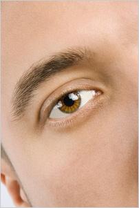 Pánske oko s obočím