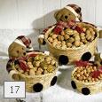 Misky na maškrty s vianočným motívom