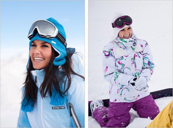 """Pre vášnivých snowboardistov Alpine Pro pripravilo štýlovo a farebne  odvážnejšie kúsky. """"Tento rok sú u nás hitom asymetrické a veľké kontrastné  vzory 3eb17399380"""