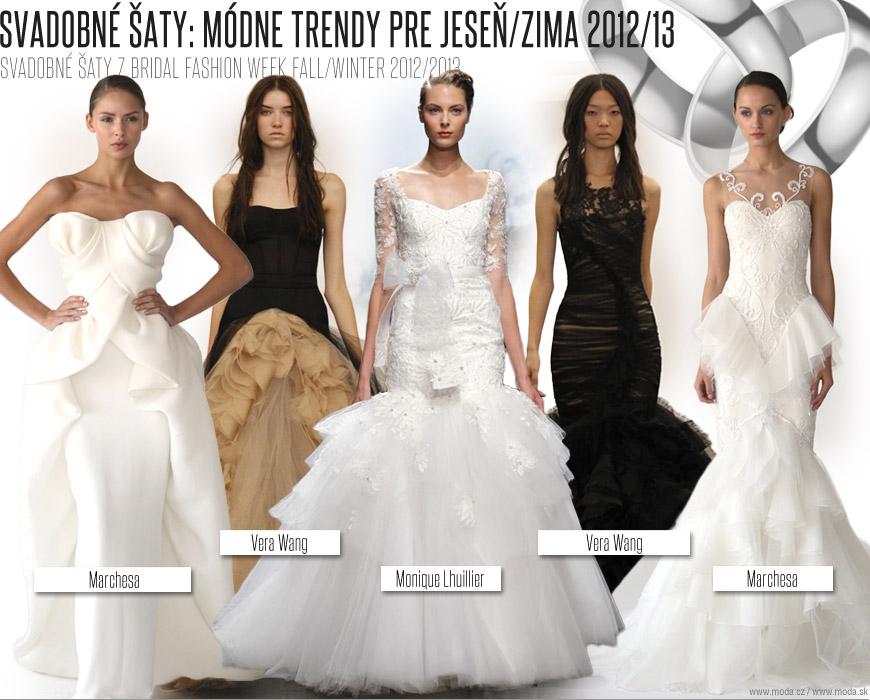 96c8aabc405c Krásne svadobné šaty z kolekcií pre jeseň a zimu 2012 13  2x Vera Wang