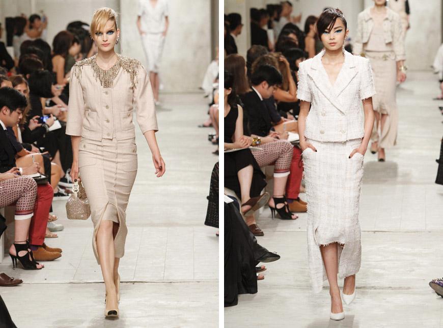 1e8e3f22e3 Kostým Chanel je klasika nikdy nechýba ani v kolekciách Chanel za ktorými stojí  Karl Lagerfeld