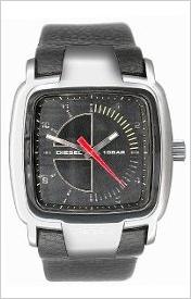 Pánske čierne športovo elegantné hodinky Diesel