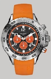 Pánske oranžové športové hodinky