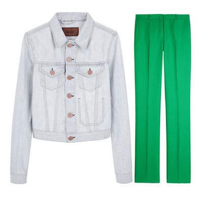 627ba08fa4b3 Trendy pre jar a leto 2011  Farebné nohavice sa nosia!