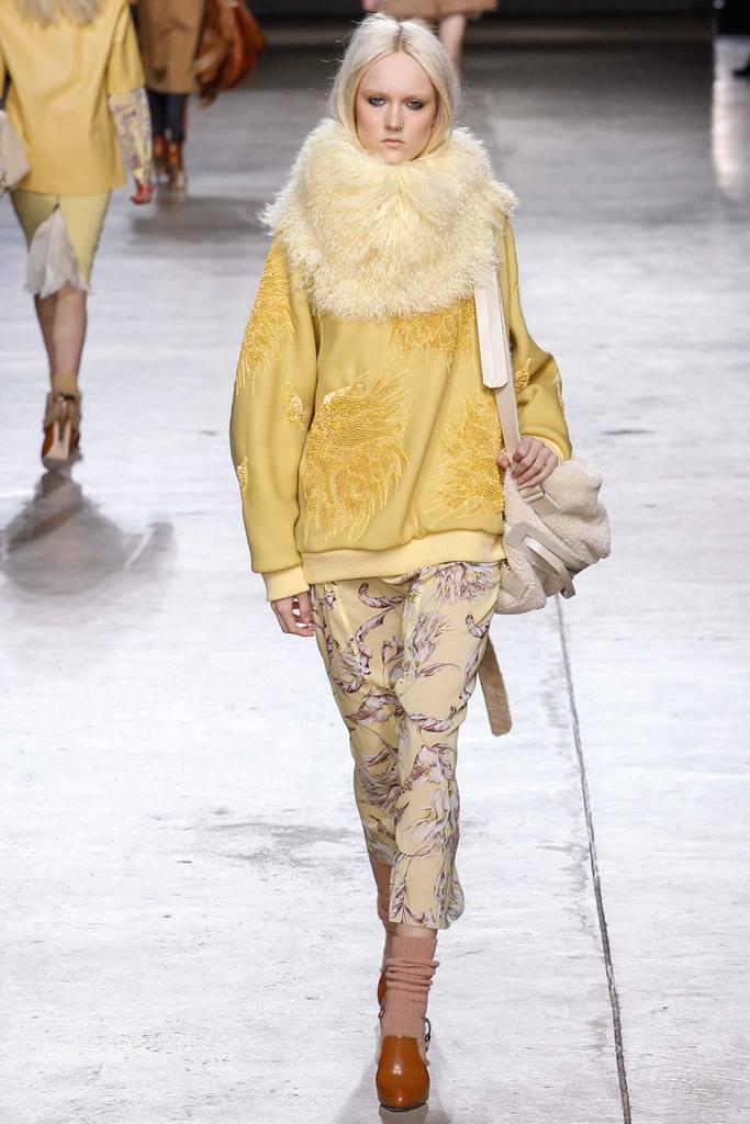 cd0f55492f70 Žltá ľanová sukňa VERO MODA Asta