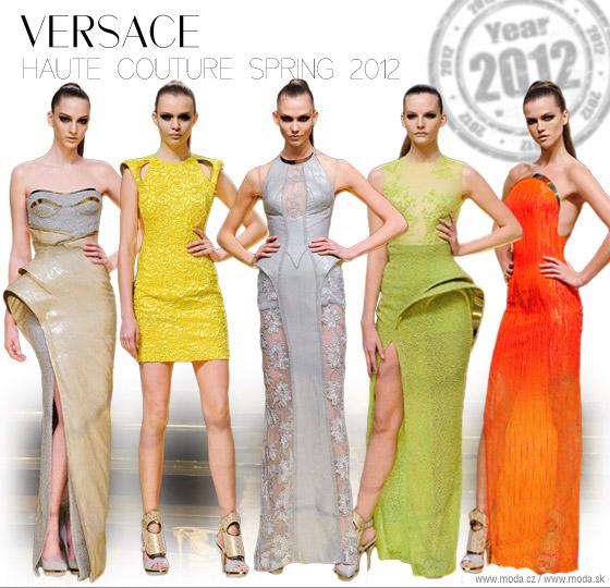 4e7468ea5 Taliansky módny dom Versace sa po osemročnej prestávke vrátil na ...