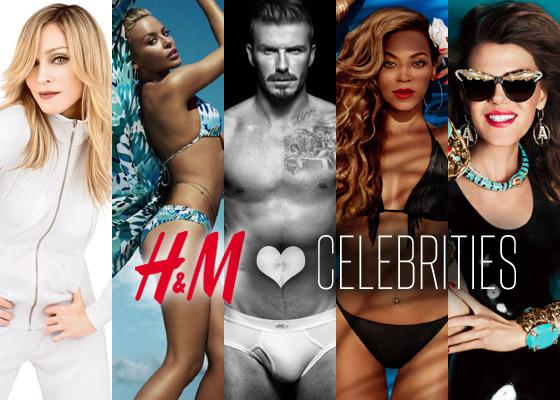 Celebrity ktoré spolupracovali s HM
