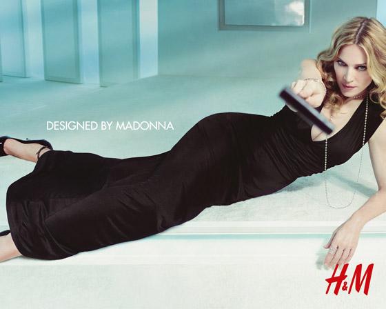 Madonna v reklame pre HM 2007