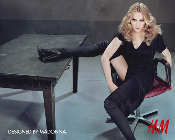 Oblečenie navrhnuté Madonnou pre HM 2007