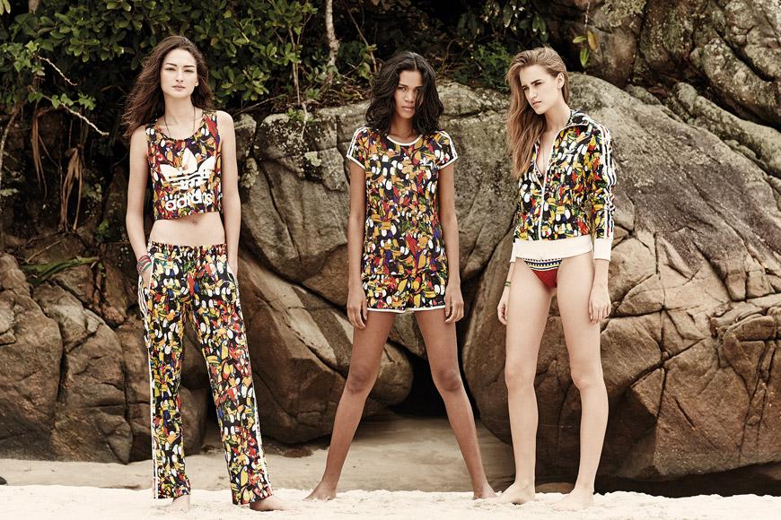 Oblečenie pre ženy Adidas Originals Farm SS14