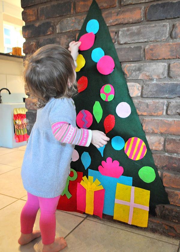 Detský vianočný stromček