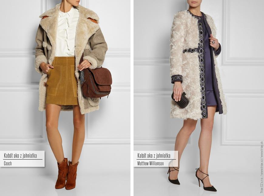 Kabát ako z jahniatka