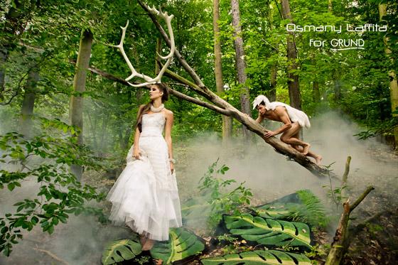 Kolekcia Osmany Laffita for Grund je inšpirovaná Osmanyho láskou k prírode